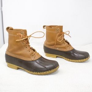 LL Bean Classic 8 Inch Duck Boots Size 9